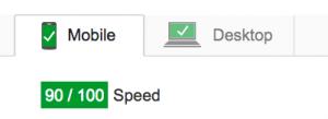 google-website-speed-test