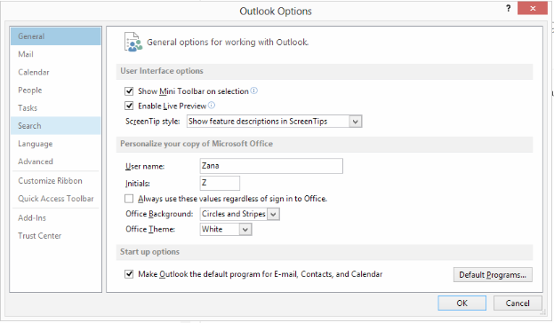 outlook-13-options-search