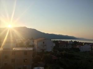 Sunrise in Orebic Croatia