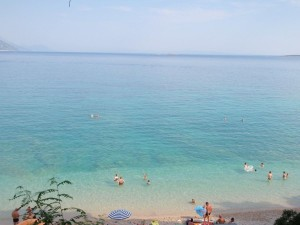 Trstenica Beach